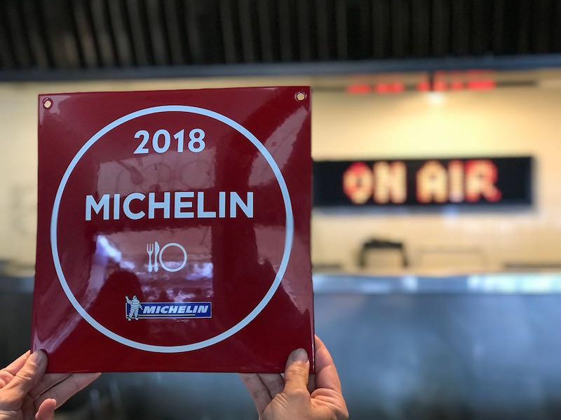 Guía Michelin 2018. Naia
